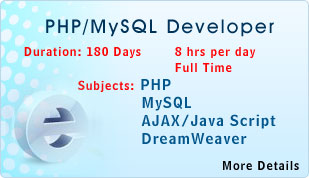 php training in hyderabad php live projects training in